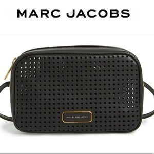 Marc Jacobs Purse Sally Perforated Camera Crossbody Bag